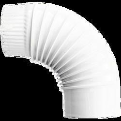 Dimovodna kriva/koljeno, bijela