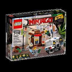 Gradska jurnjava, LEGO Ninjago Movie