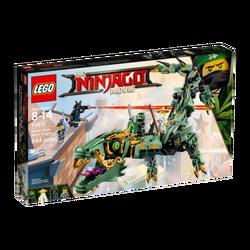 Robotski zmaj Zelenog Ninje, LEGO Ninjago Movie