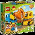 Lego - Kamion i Bager gusjeničar