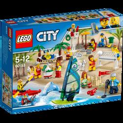 Skupina ljudi–zabava na plaži, LEGO City