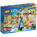 Lego - Skupina ljudi–zabava na plaži