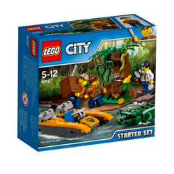 Početni komplet za prašumu, LEGO City