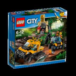 Misija u prašumi na polugusjeničaru, LEGO City