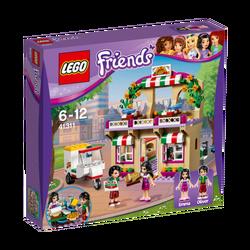Pizzeria u Hartlake-u, LEGO Friends