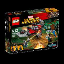 Napad Ravagera, LEGO Marvel Super Heroes