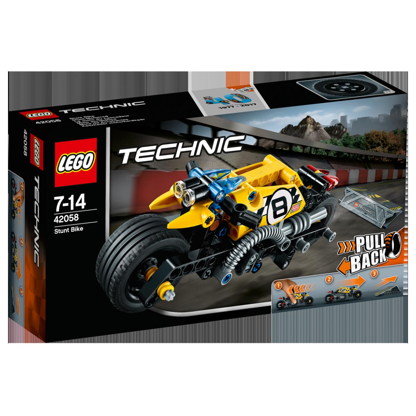 Motocikl za vratolomije, LEGO Technic