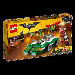 Riddler i zagonetno vozilo, LEGO Batman Movie