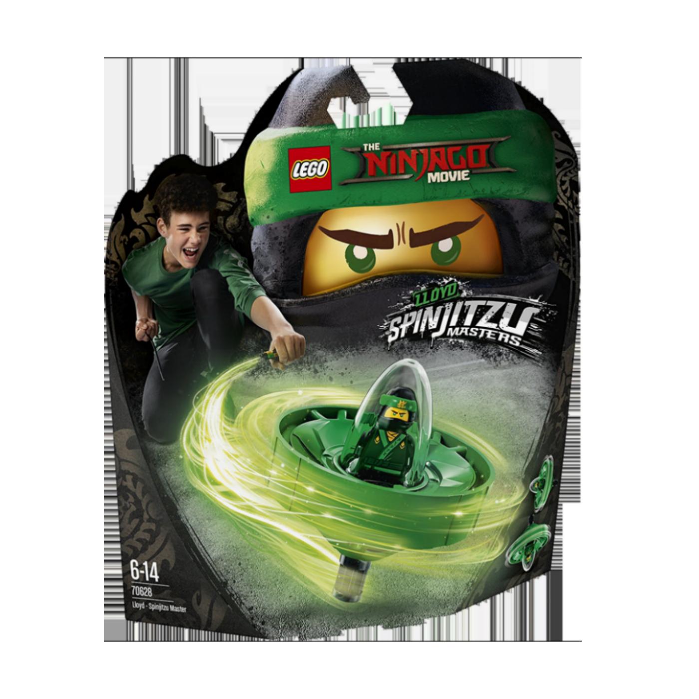 Lloyd - Spinjitzu Master, LEGO Ninjago Movie