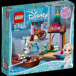 Elzina pustolovina na tržnici, LEGO Disney Princess