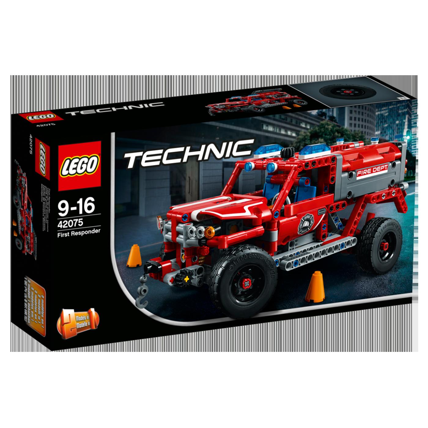 Prva pomoć, LEGO Technic