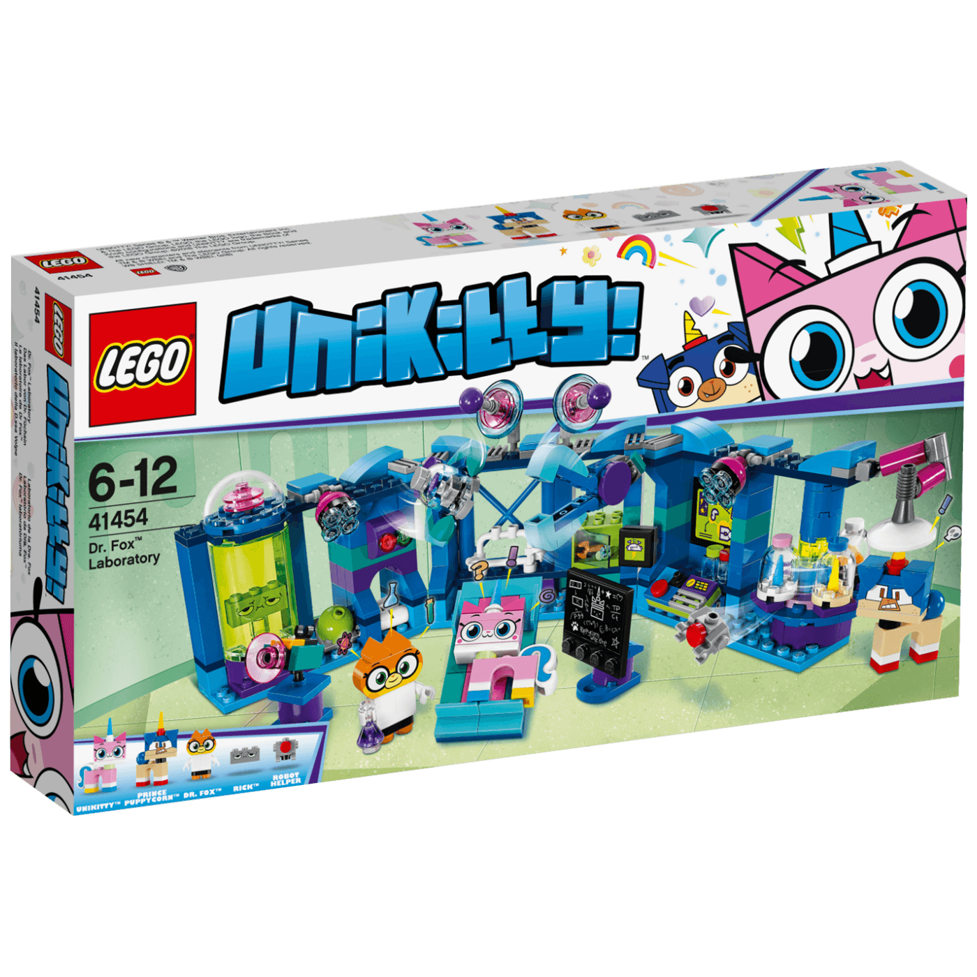 Lego -  Laboratorija dr. Foxa