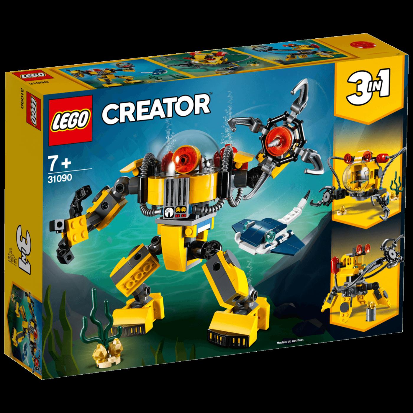 Lego - Podvodni robot