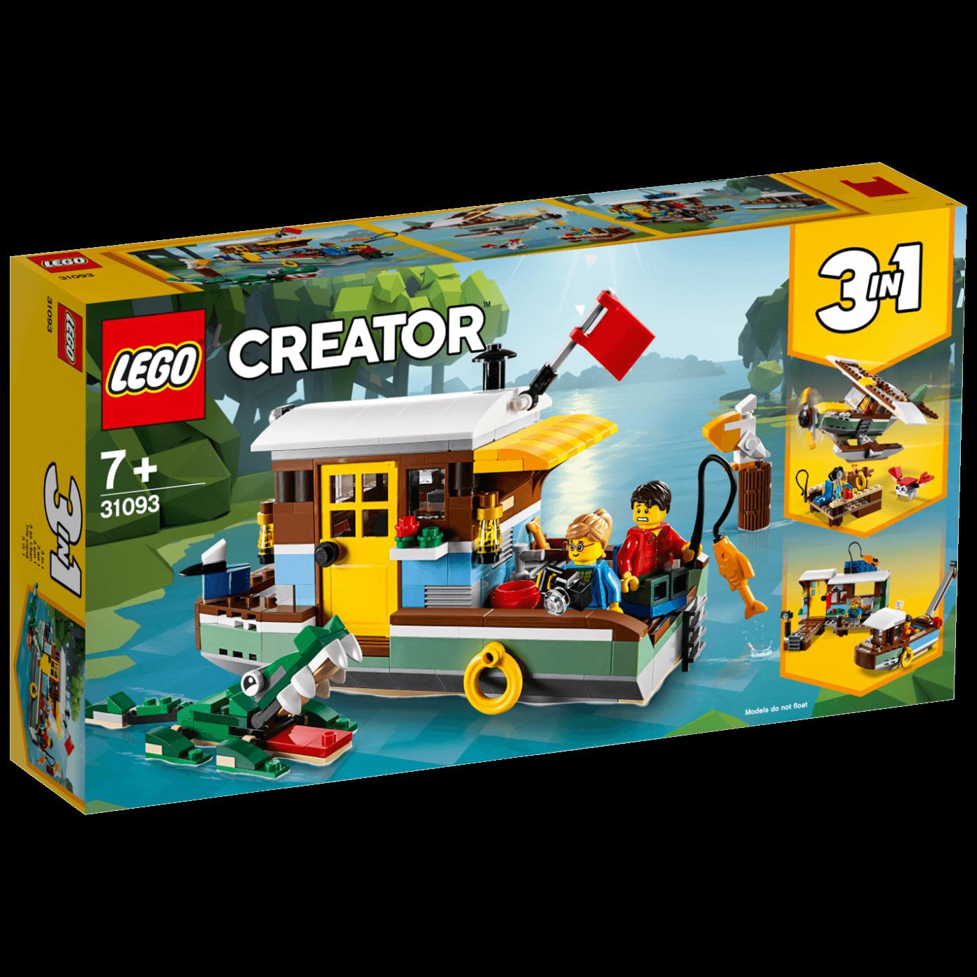 Lego -  Riječni brod-kuća