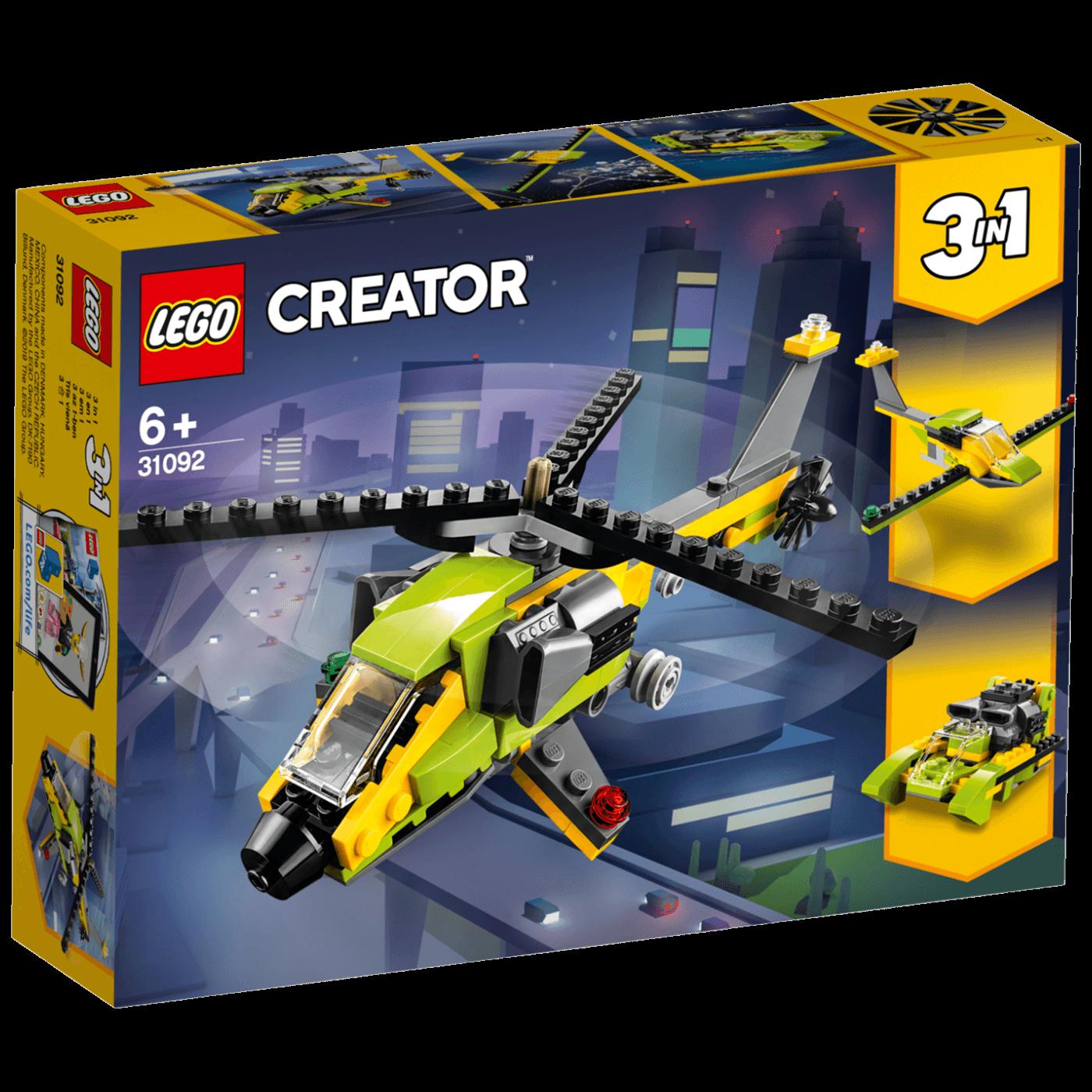 Lego - Pustolovina u helikopteru