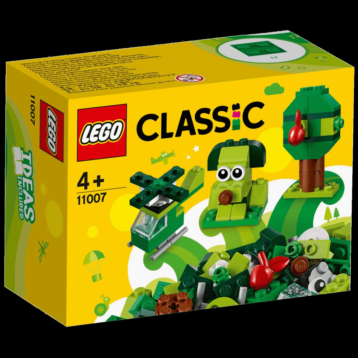 Kreativne zelene kockice, Lego Classic