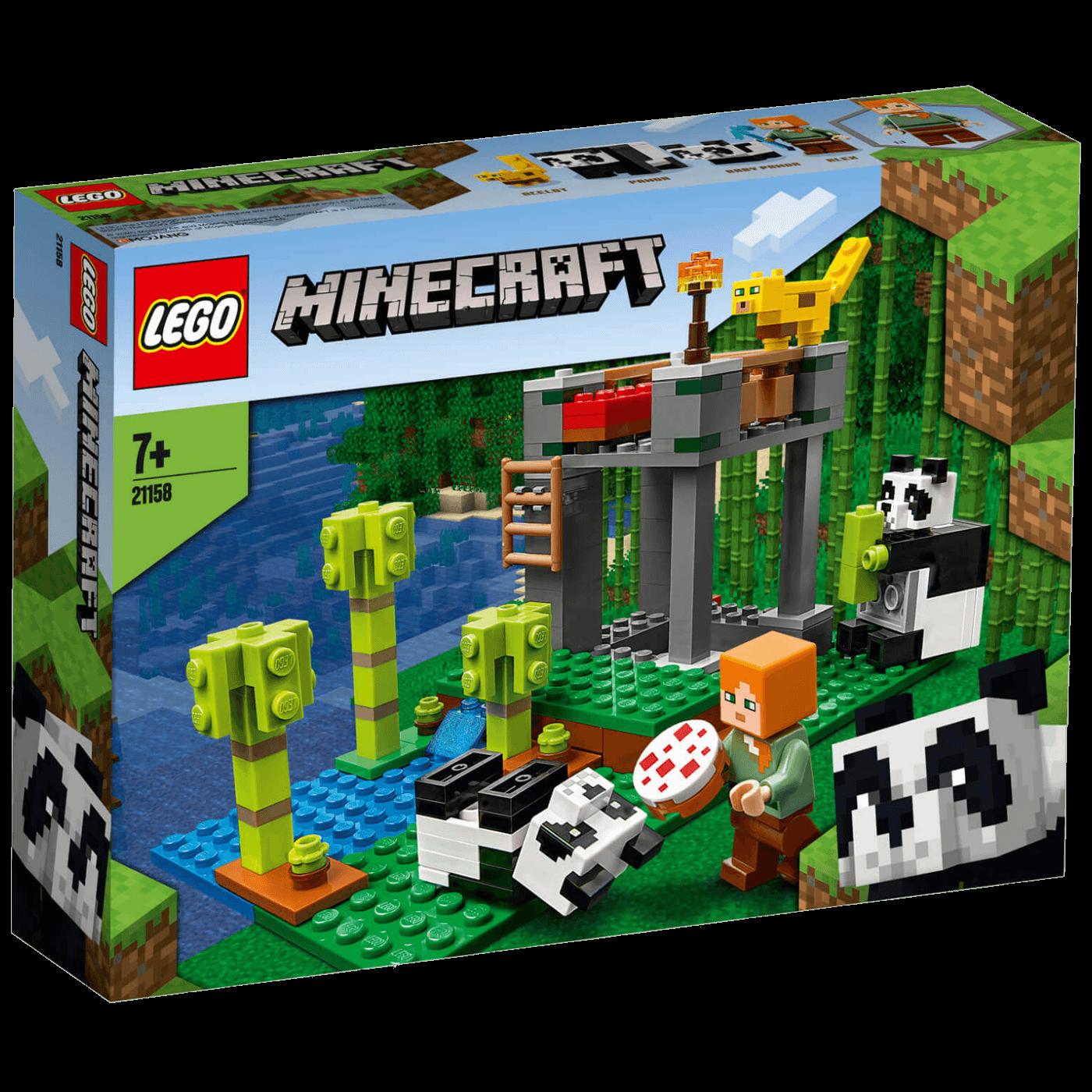 Vrt za pande, Lego Minecraft