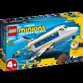 Lego - Minion Pilot na treningu