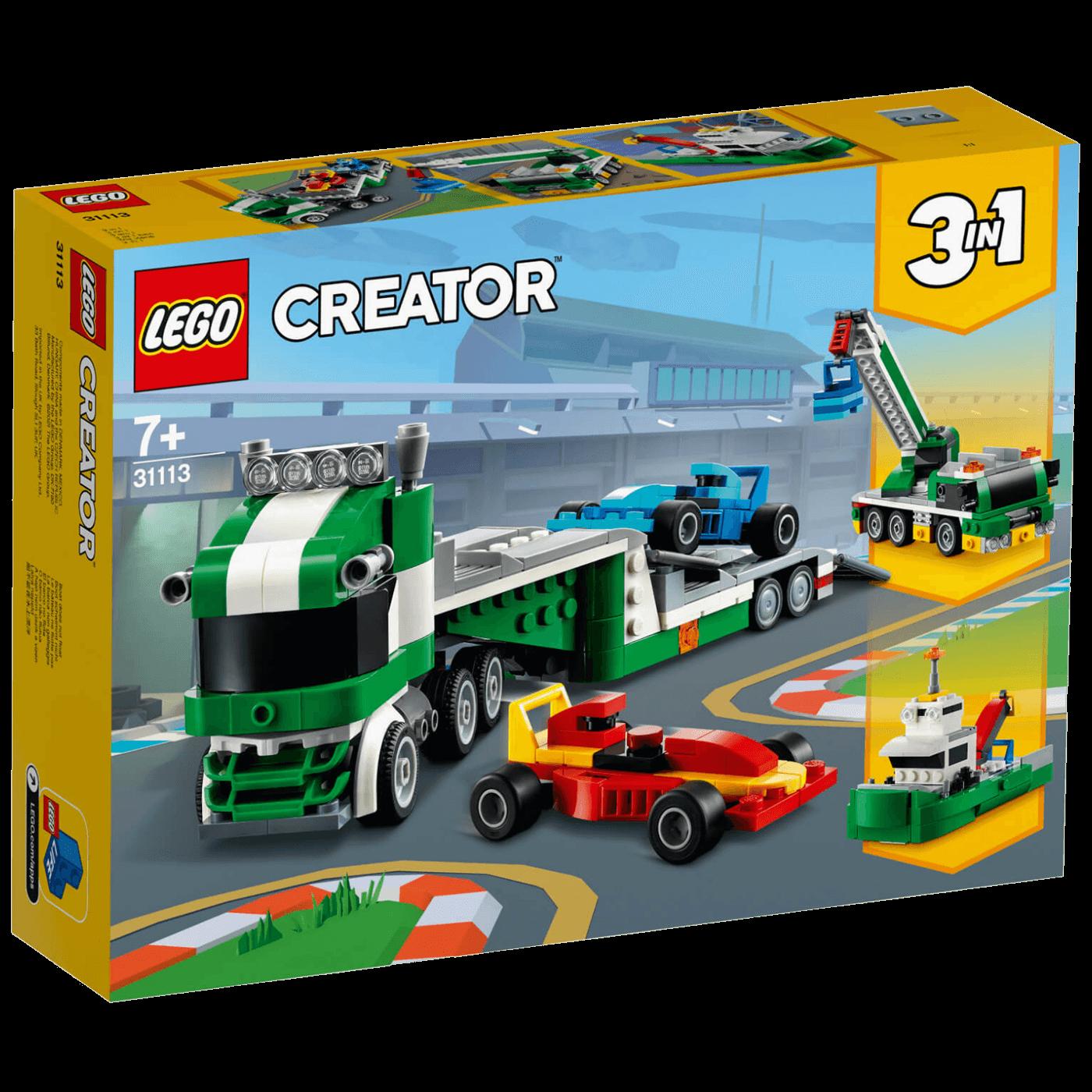 Transporter trkaćih automobila, LEGO Creator