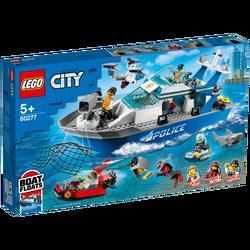 Policijski Patrolni Čamac, LEGO City