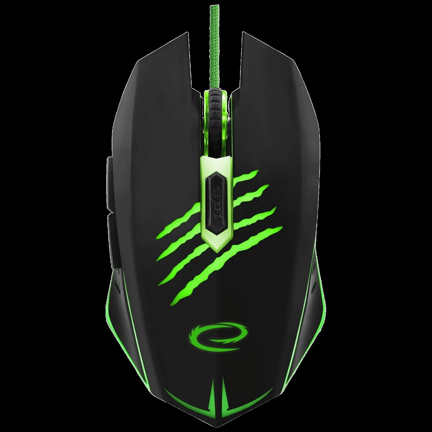 Miš optički, gaming, 2400 dpi, USB