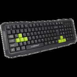 Tipkovnica, gaming, USB, Aspis Green