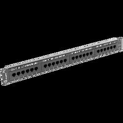 Patch panel, 1U, 24 portni