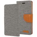 AMA Europe - Canvas Case Galaxy J3 gray