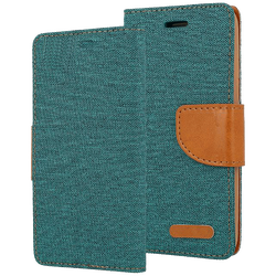 AMA Europe - Canvas Case Galaxy J5 dark green