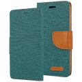 AMA Europe - Canvas Case Galaxy J7 dark green