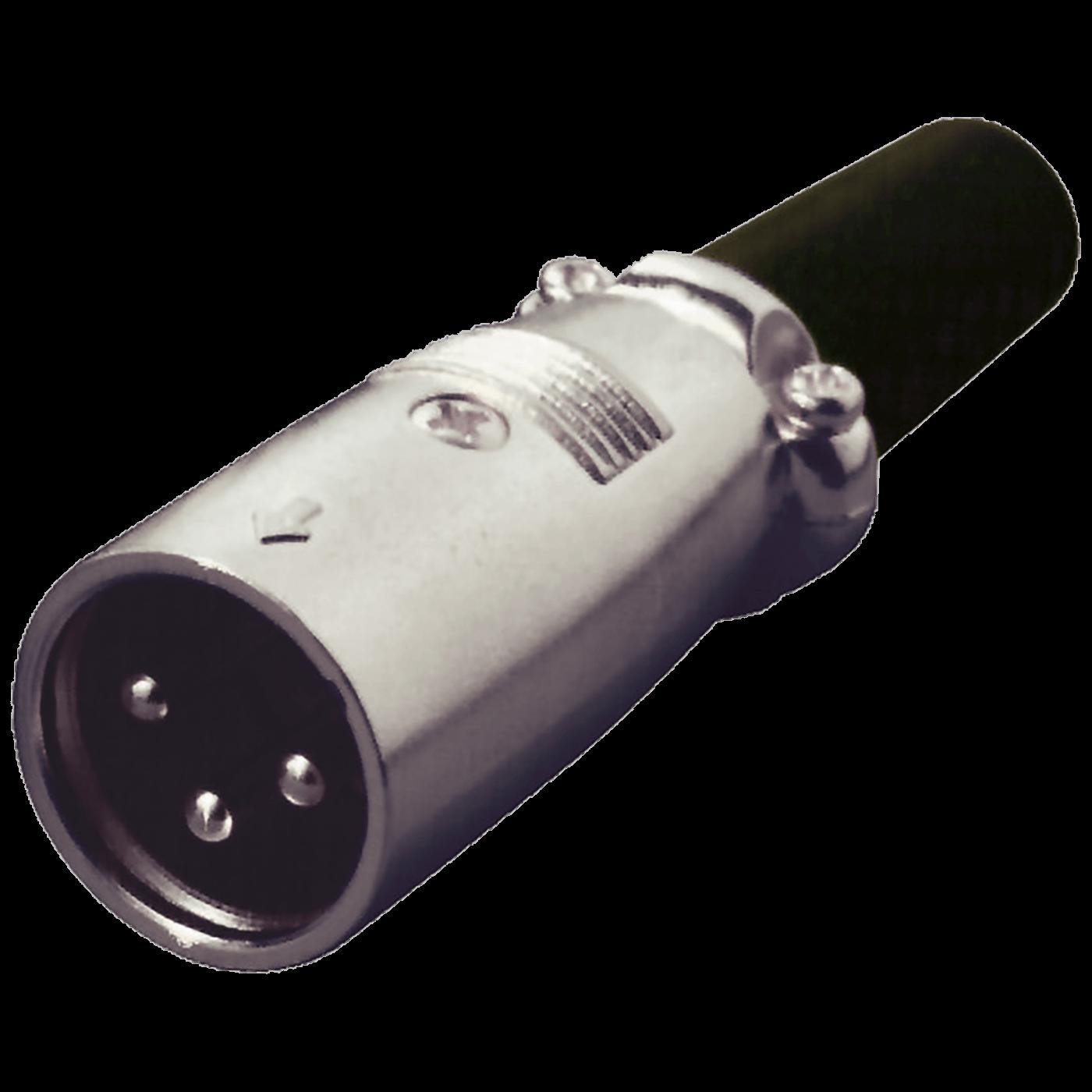 Utikač za mikrofon, XLR, tropolna