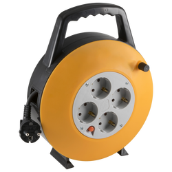 Motalica za kabl, 10 met., H05VV-F, 3 x 1.0 mm², IP20