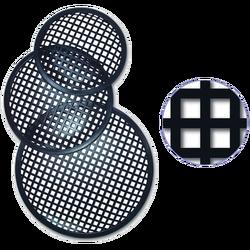 Rešetka, metalna, za auto zvučnike, 385 mm