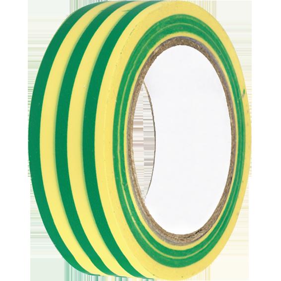 Izolir traka, 10 met, zeleno / žuta