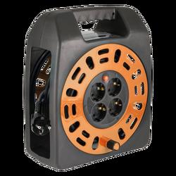 Motalica za kabl, 20 met., H05VV-F, 3 x 1.0 mm², IP20