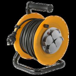 Motalica za kabl, 30 met., H07RN-F, 3 x 1.5 mm², IP44