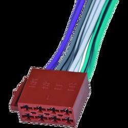 Utičnica ISO, zvučnička, 15cm označene žice, ženska