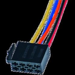 Utičnica ISO, napajanje, 15cm označene žice