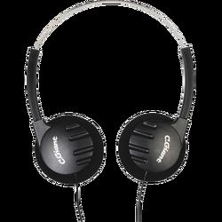 Slušalice stereo , 3,5mm, 5 m kabl, crne
