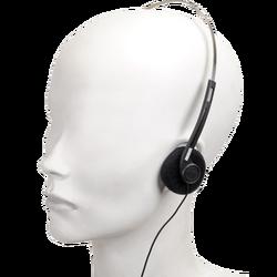 Slušalice stereo, 3,5mm, crne