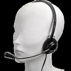 Slušalice sa mikrofonom, stereo, 3,5mm