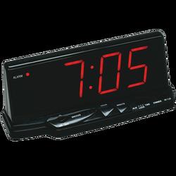 Sat sa alarmom, LED zaslon
