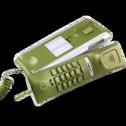Telefon analogni, stolni, žičani, CID, LCD, zelena boja