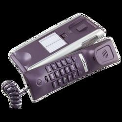 Telefon analogni, stolni, žičani, CID, LCD, purpurna boja
