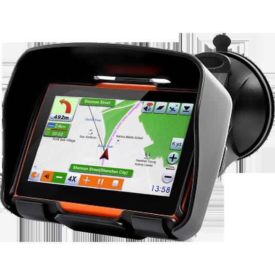 ConCorde - CNS Globe Moto Black/Orange