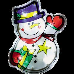 Dekorativna LED rasvjeta, snjegović