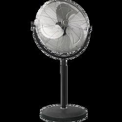 Ventilator sa postoljem, 3 brzine, metalne lopatice, 100W