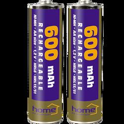 Baterija punjiva AA, 600mAh, blister 2 kom