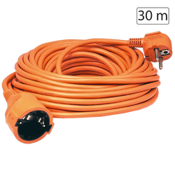 Produžni strujni kabl 1 utičnica, 30m, H05VV-F 3G 1,5mm²
