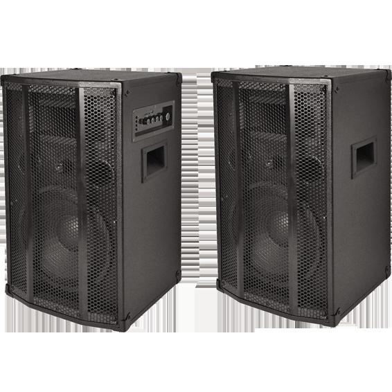 Zvučna kutija, set, aktivna / pasivna, 120W / 80W